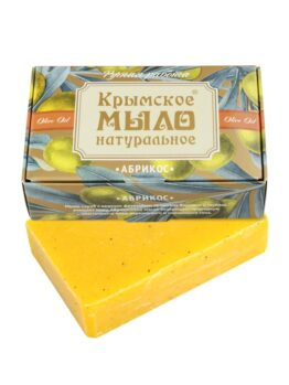 Крымское мыло натуральное «Абрикос»